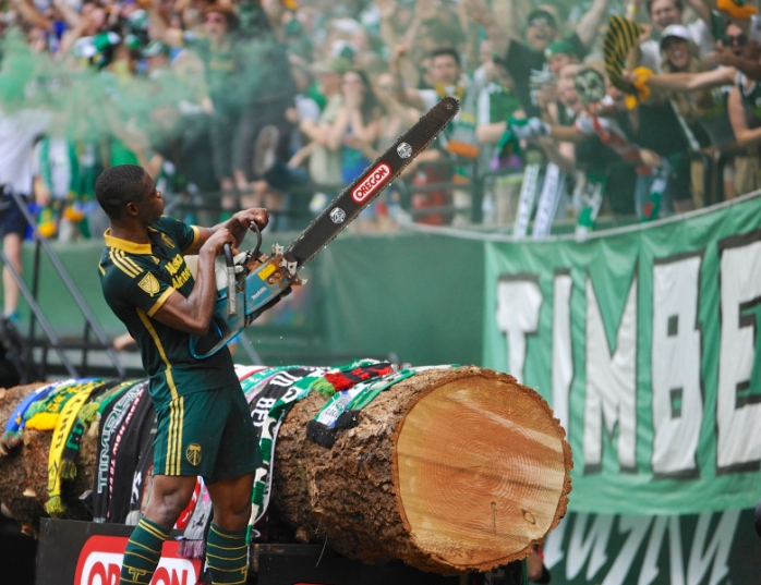 Sounders Timbers Soccer